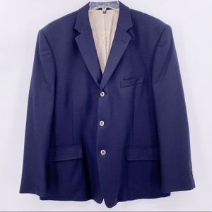 Nautica Gear Coat Navy Blue Blazer